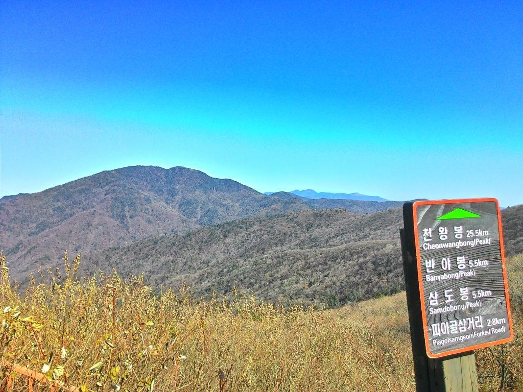 Başka bir açı. Another view from summit.