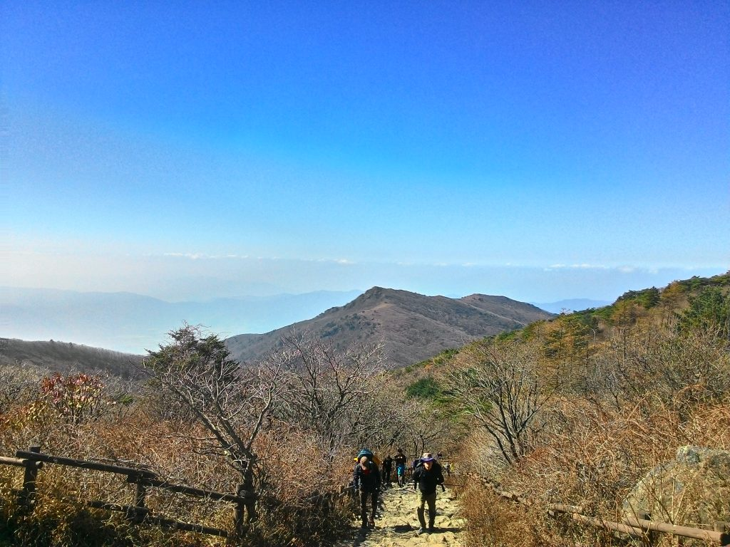 Zirveden.. From view of summit.